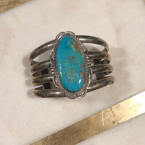 Jewelry - turquoise bangle bracelet